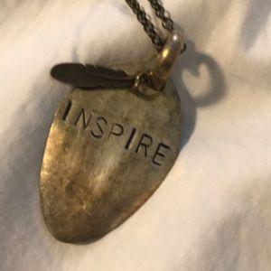 "Handmade Inspire Statement Piece approx 12"" chain"